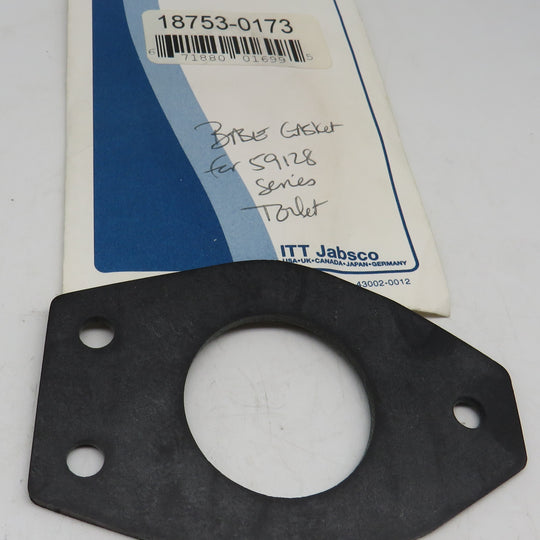 18753-0173 Jabsco Par Base Gasket for 59128 Series Toilets OBSOLETE