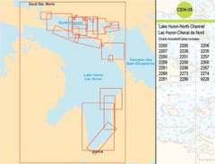 CEN05 Lake Huron-North Channel Raster/Matricielles Digital Charts Requires (KEY CODE) Email Address NEEDED