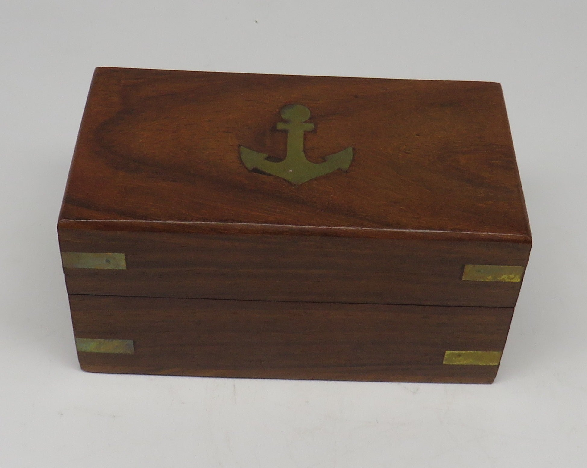 Brass Telescope W/ Nautical Wood Box