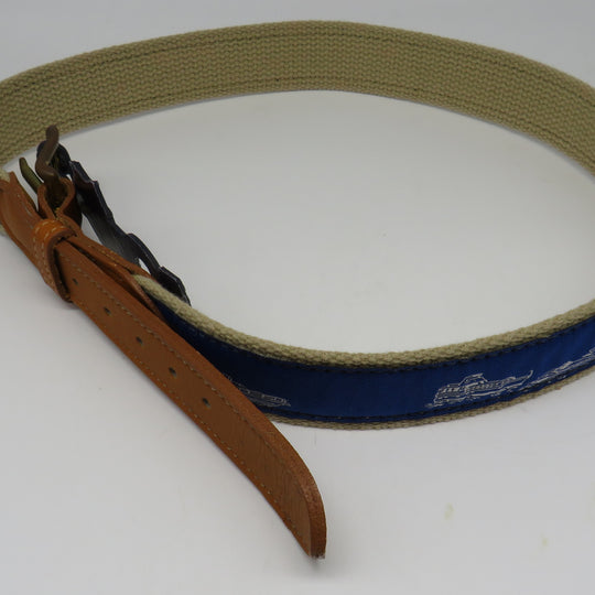Nautical Belt #56 Power Boats Belt OBSOLETE Design Size 32