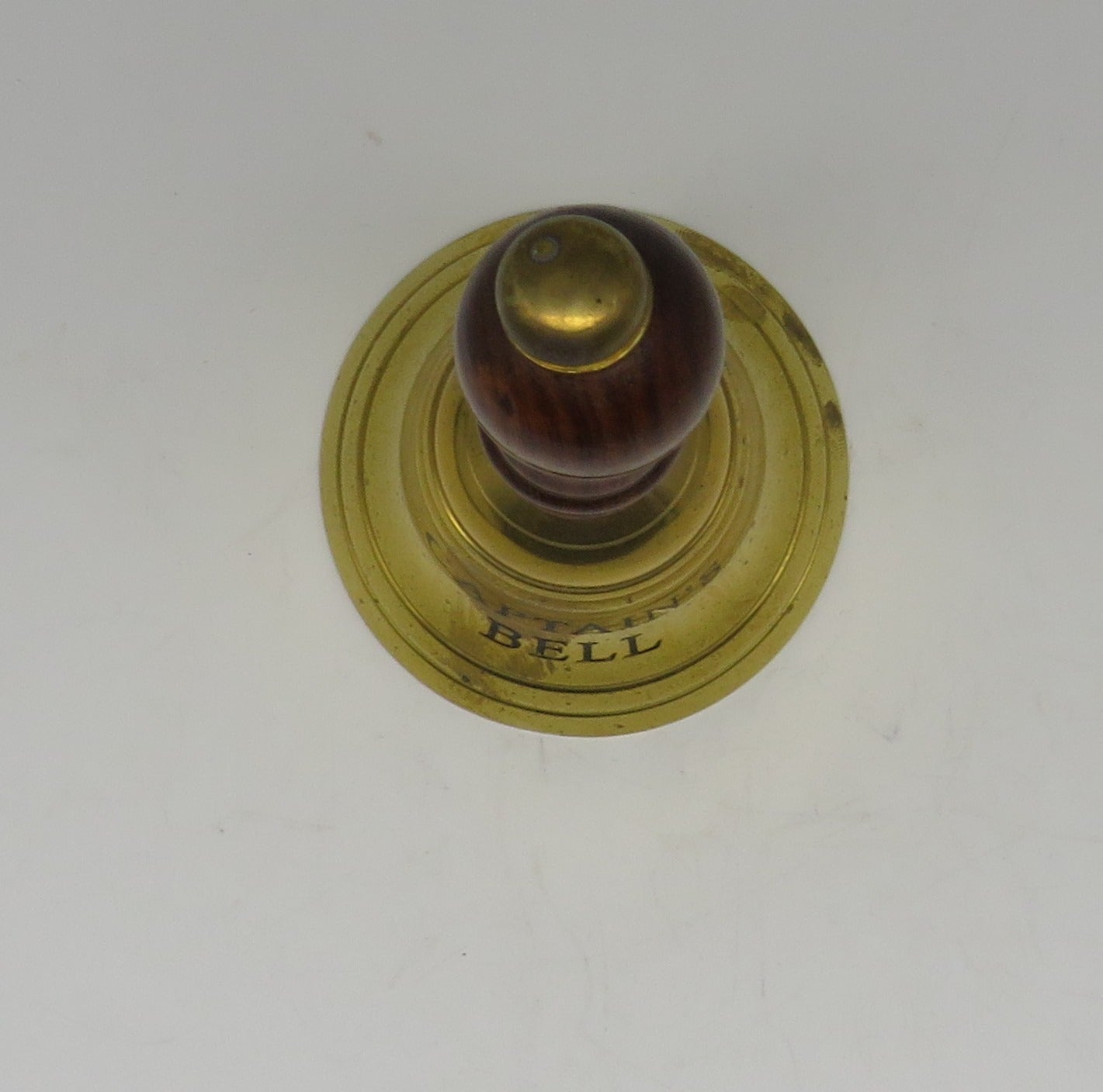 Nautical Brass Captain's Table Bell [Small]