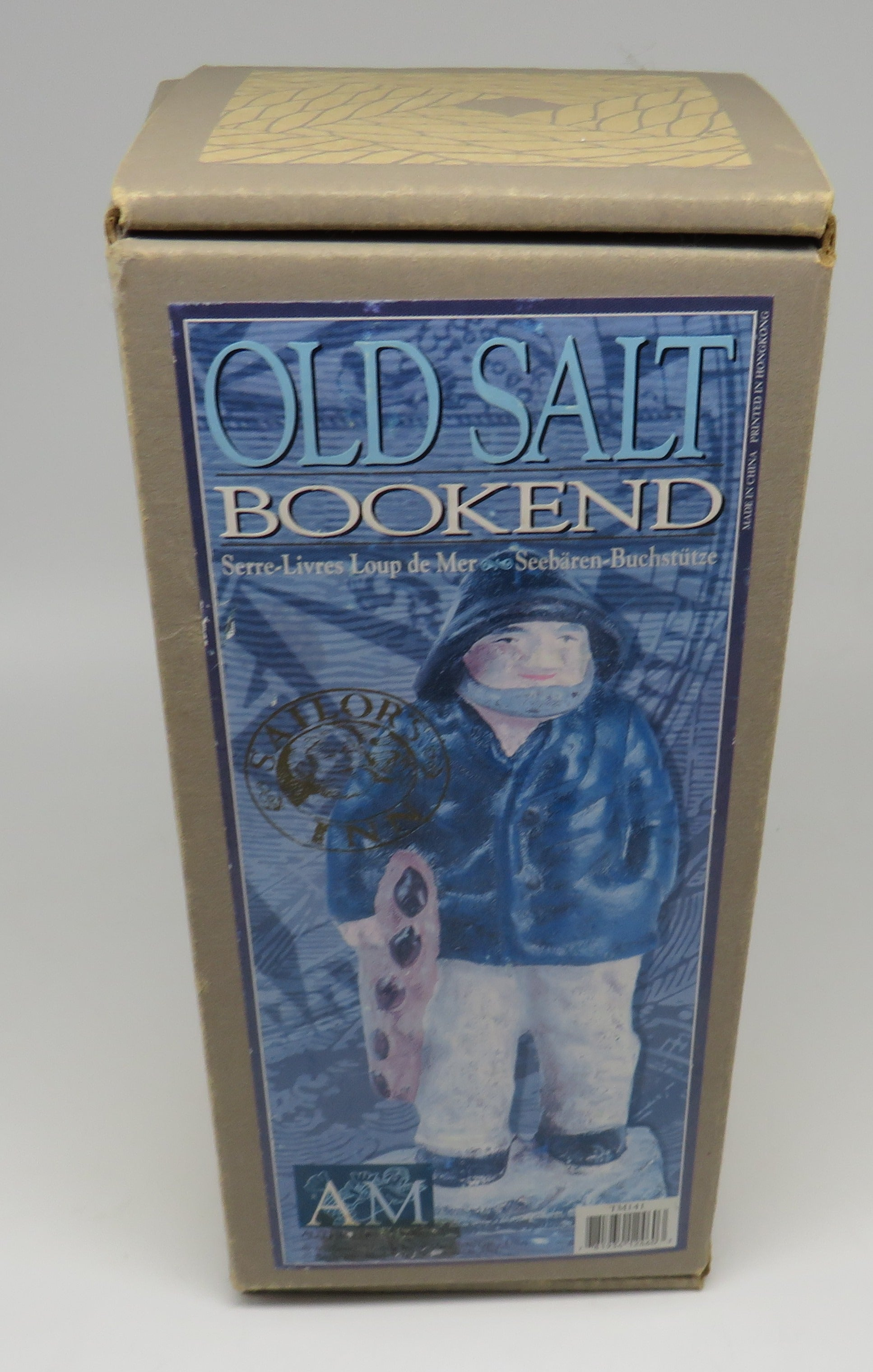 "Authentic Model ""Old Salt"" Bookend OBSOLETE"
