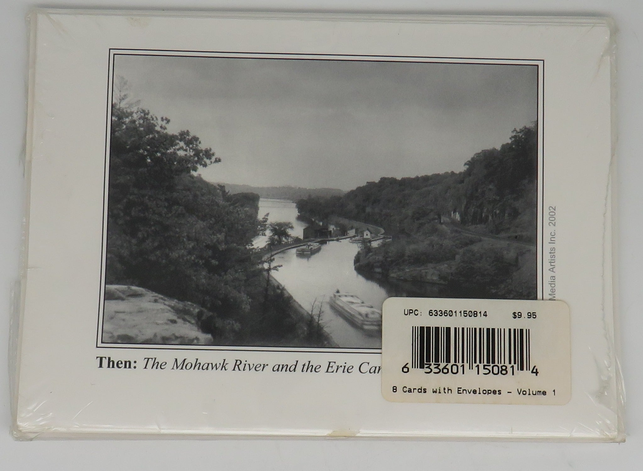 Now & Then Notecards New York State Erie Barge Canal System