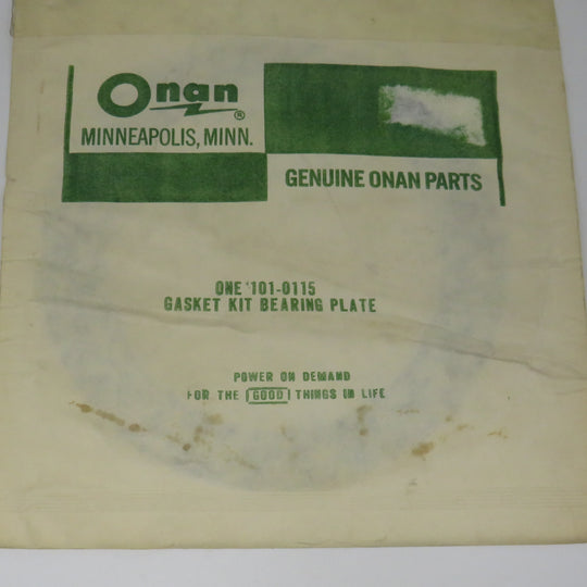 101-0115 Onan Gasket Kit Bearing Plate For CCK CCKB OBSOLETE
