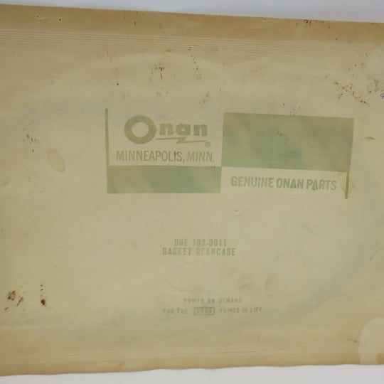 103-0011 Onan Gearcase Gasket  For CK, CCK, CCKA, CCKB (Superseded to 103-0810 & 103-0408)