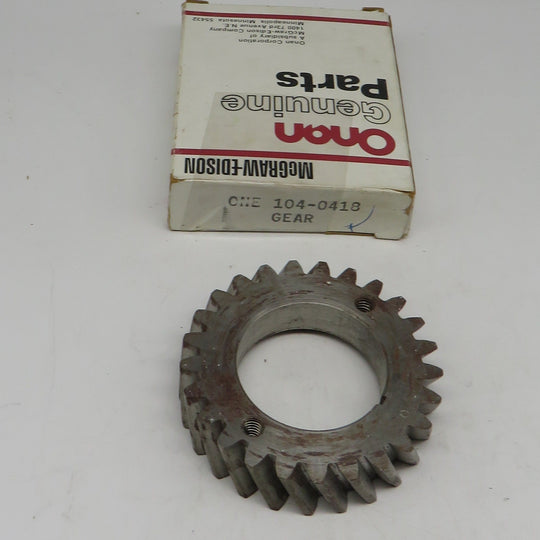 104-0418 Onan Gear Crankshaft For DJE Genset Spec AB-AG)