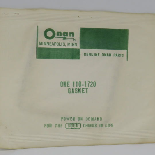 110-1720 Onan Gasket Valve Box For NH Home Stand By Electric Generators