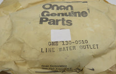 130-0510 Onan Line-Water Outlet