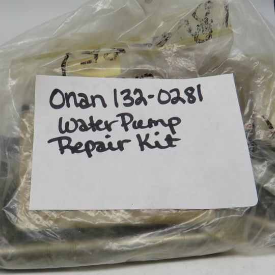 132-0281 Onan Water Pump Repair Kit OBSOLETE