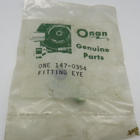 147-0354 Onan Eye Fitting Fuel Inlet For MDJE 6.0 & 7.5 KW OBSOLETE