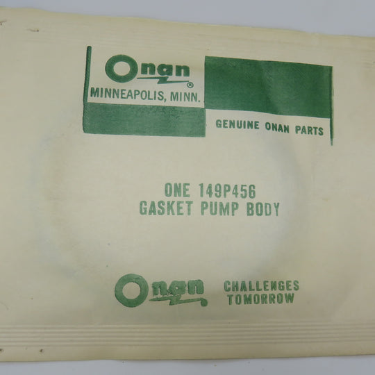 149-0456 Onan Pump Body Gasket