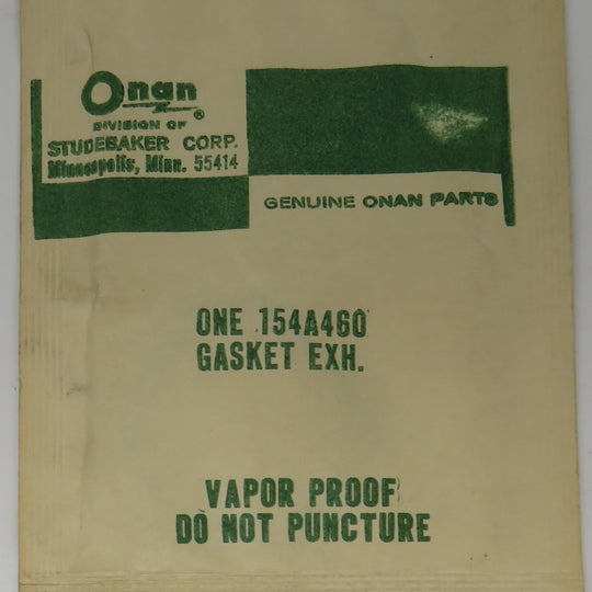 154-0460 [154A460] Onan Exhaust Gasket OBSOLETE