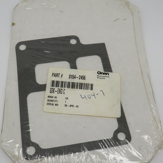 154-2456 Onan End Cover Gasket Obsolete For MDKD Spec 6.5 to 8.0