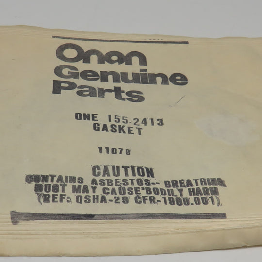 155-2413 Onan Gasket-EXH for MCE Ensign Generating Set (Spec A)