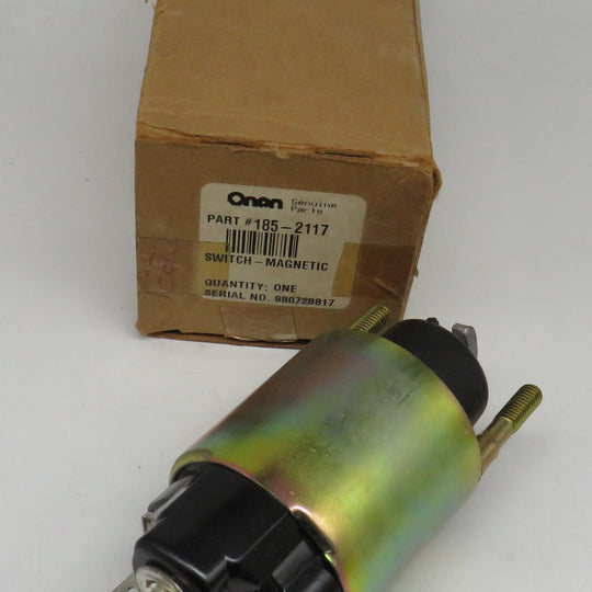 185-2117 Onan Solenoid Switch-Magnetic