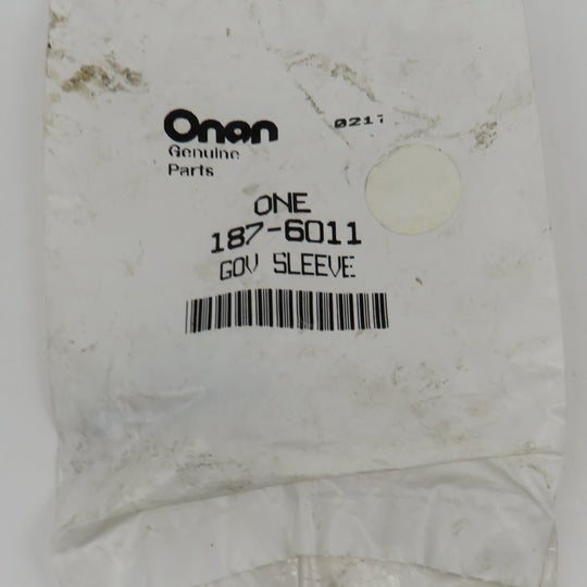 187-6011 Onan Governor Sleeve (Part of Crankcase Group) OBSOLETE for EH64 Engine Welder Application (Onan Performer OHV220) Robin Part#263-41901-03