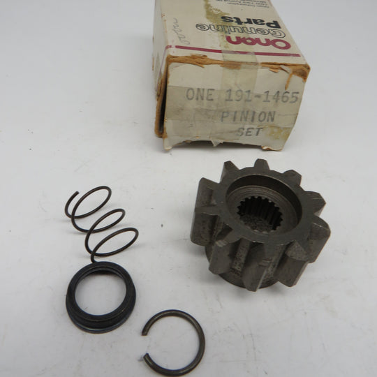 191-1465 Onan Starter Gear Pinion Set For MDJE 6.0 & 7.5 KW Spec AB-AF Mitsubishi Starter Parts