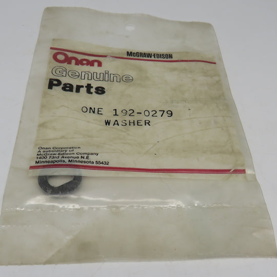 192-0279 Onan Washer (Cork) Friction OBSOLETE For AJ Genset Spec P