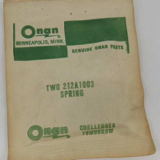 212-1003 Onan Spring DC Brush 212A1003 OBSOLETE