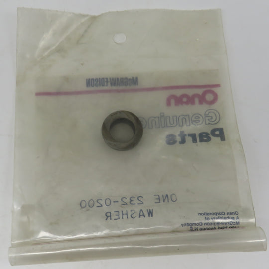 232-0200 Onan Washer Cone Shaped For MDJE 6.0 & 7.5 KW Spec AB-AF OBSOLETE