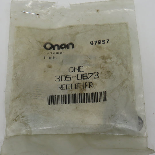 305-0673 Onan Rectifier-Avalanche (Replaces 305-0235) Both OBSOLETE