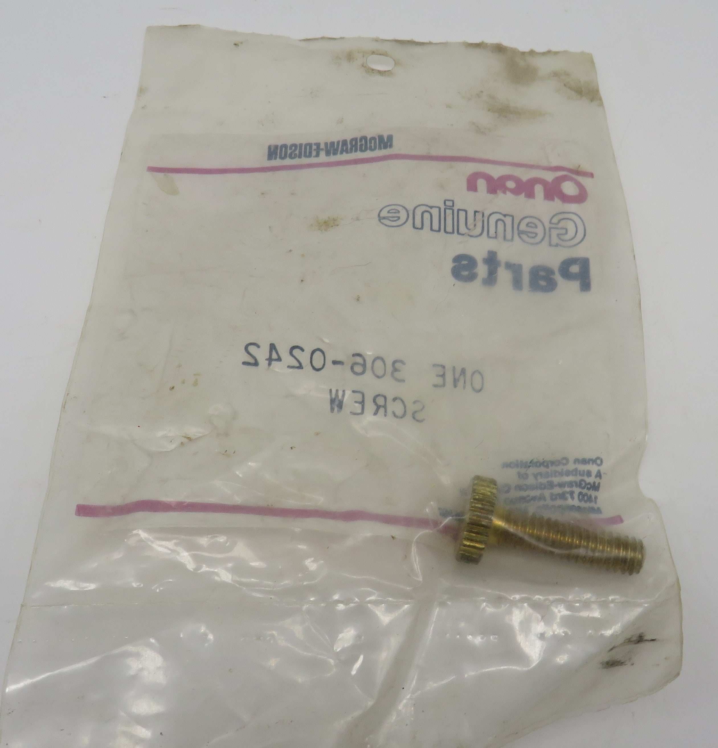 306-0242 Onan Screw-Solenoid