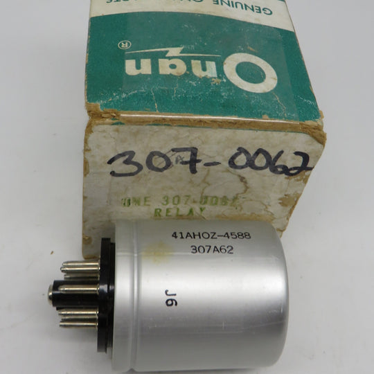 307-0062 Onan Relay For MCCK (Spec A-G) OBSOLETE