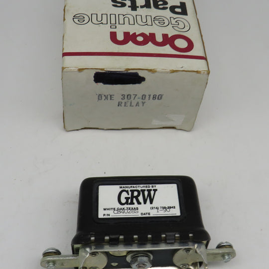 307-0180 Onan Relay Charge 12 Volt For DJA Genset Spec A-V