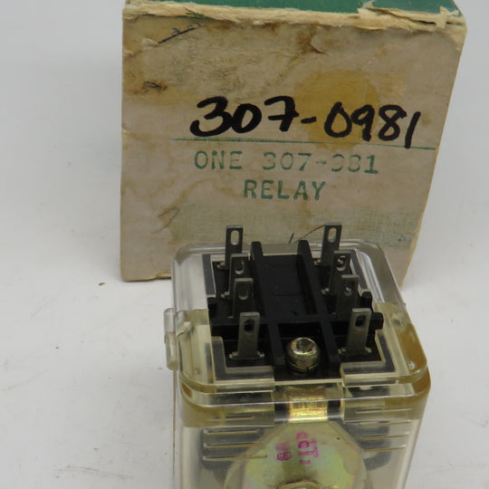 307-0981 Onan Relay For MCCK (Spec A-G) OBSOLETE