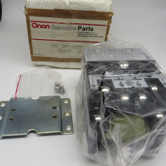 307-1109 Onan Relay OBSOLETE For OTII Transfer Switch Accessories (Spec E, F)