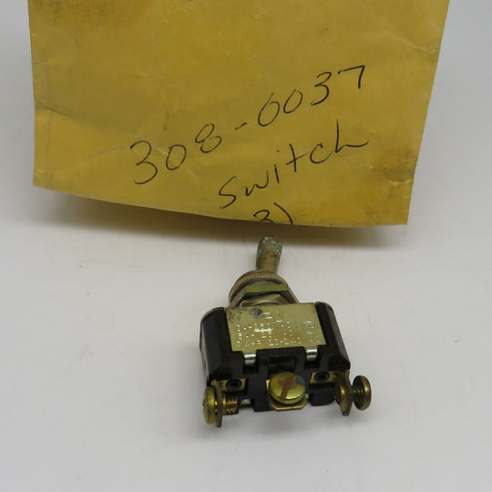 308-0037 Onan Switch For Control DJB, DJC, DJE Genset DJC