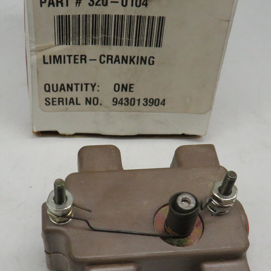 320-0104 Onan Limiter Cranking Switch Tan Body (OBSOLETE) Also, Kohler 243026 Tyco 10-1015-4