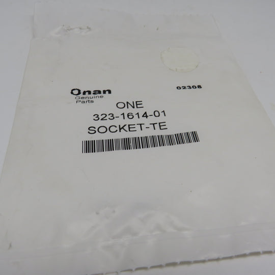 323-1614-01 Onan Socket Terminal For Controller RV Genset KY & KYD (KY Begin Spec J) & (KYD Spec A)