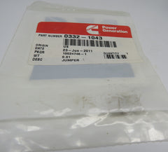 332-1043 Onan Jumper For DJE Genset (Spec AB-AG) For Control DJB, DJC & DJE