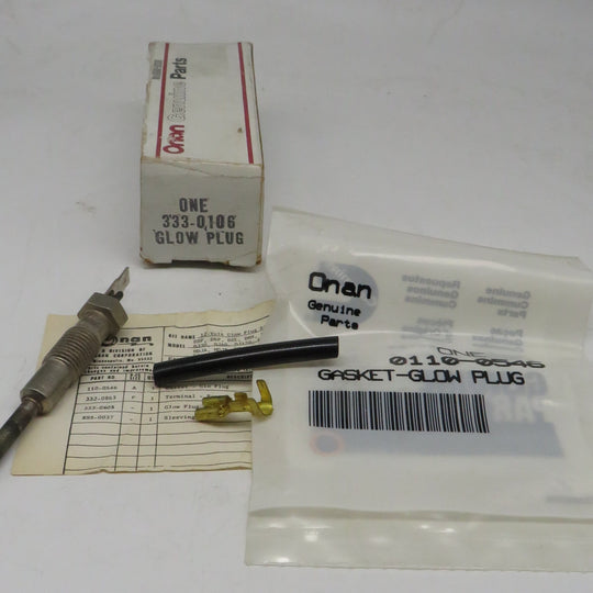 333-0106 Onan Glow Plug Kit 12 Volt OBSOLETE