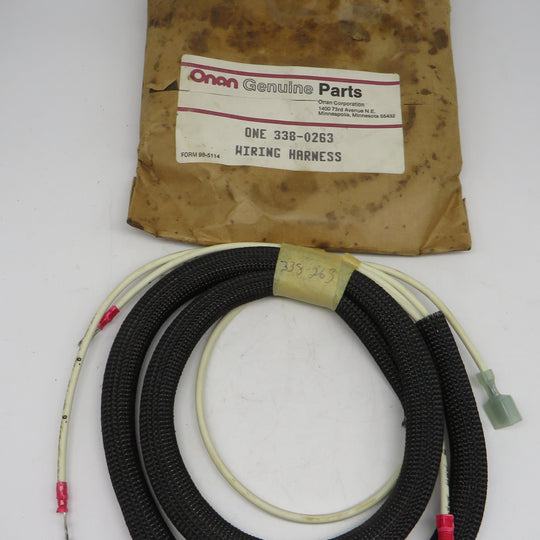 338-0263 Onan Harness ASM Wiring-Strap Bond OBSOLETE for MDJF (Spec A-AD)