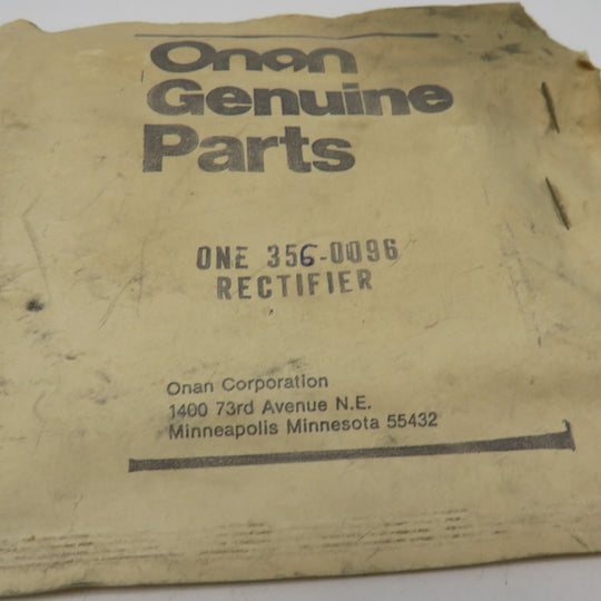 356-0096 Onan Rectifier OBSOLETE
