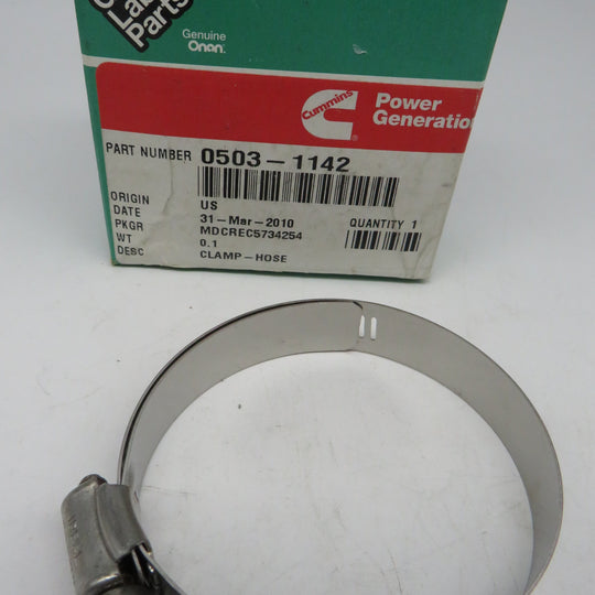 503-1142 Onan Hose Clamp #36 1-13/16 x 2-3/4