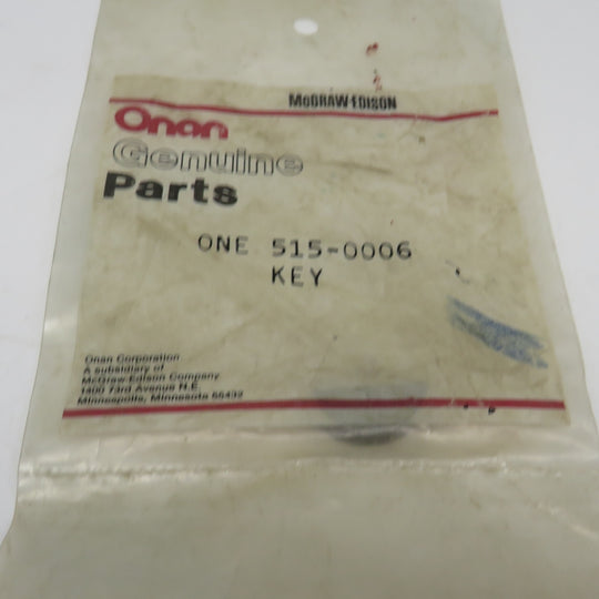 515-0006 Onan Key Woodruff Flywheel Key For DJC DJB DJE DJF