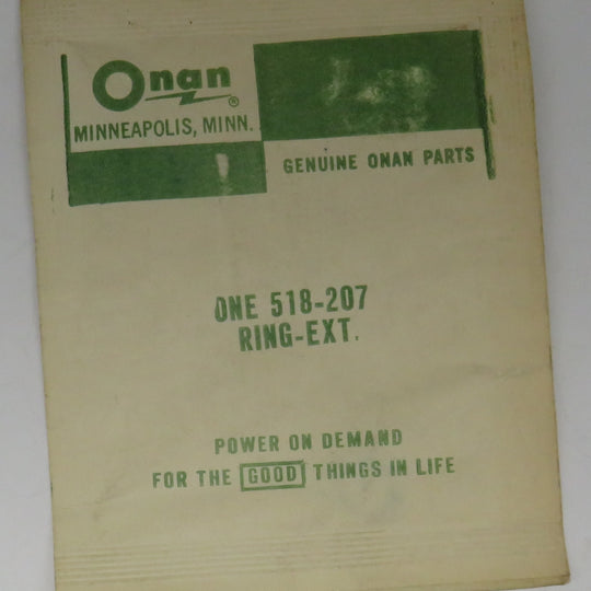 518-0207 Onan Ring External Snap Decompression Release OBSOLETE For RDJA Engine