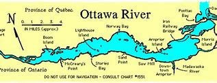 Ottawa River Chart 1514 Carillon To Papineauville