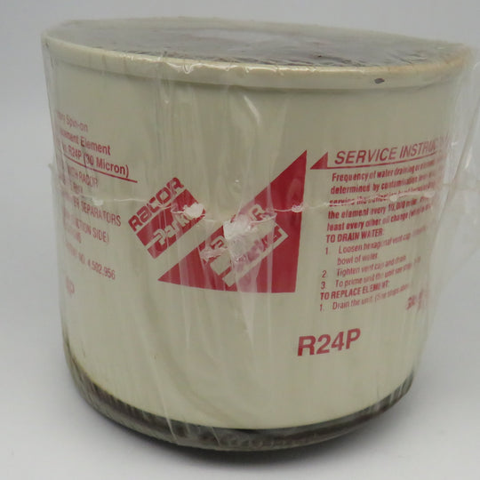 R24P Racor Primary Replacement Fuel Water Separator Filter 30 Micron