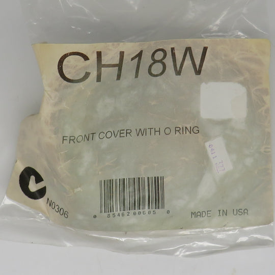 CH18W Raritan Front Cover Plate & O-Ring
