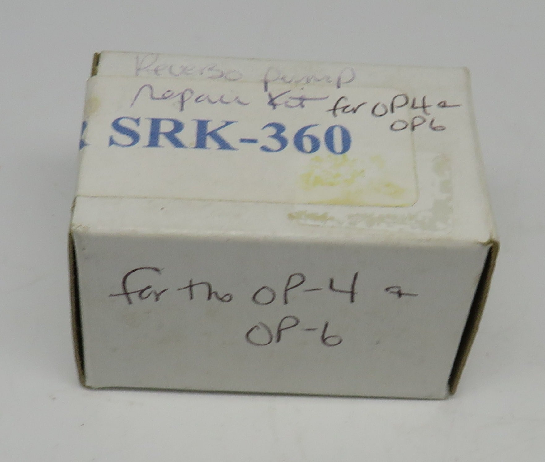 PR SRK-360 Reverso Impeller (PR4 Oil Pump Repair Kit) For the OP-4 & OP-6