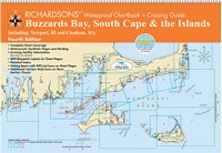 Buzzards Bay, South Cape & the Islands Richardson's Waterproof Chartbook & Cruising Guide 4th Edition