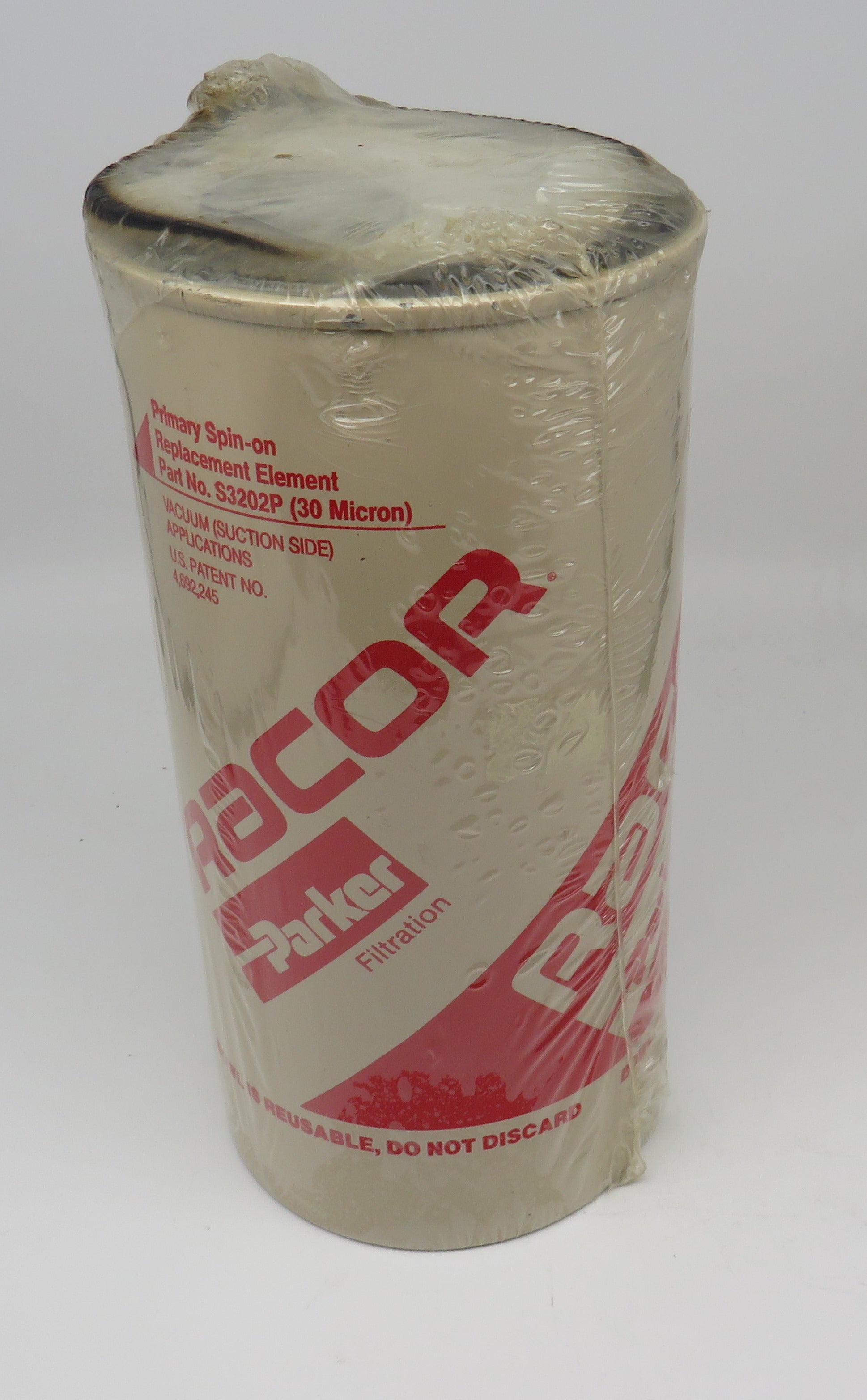 S3202P Racor Primary Spin on Element Fuel Filter 30 Micron