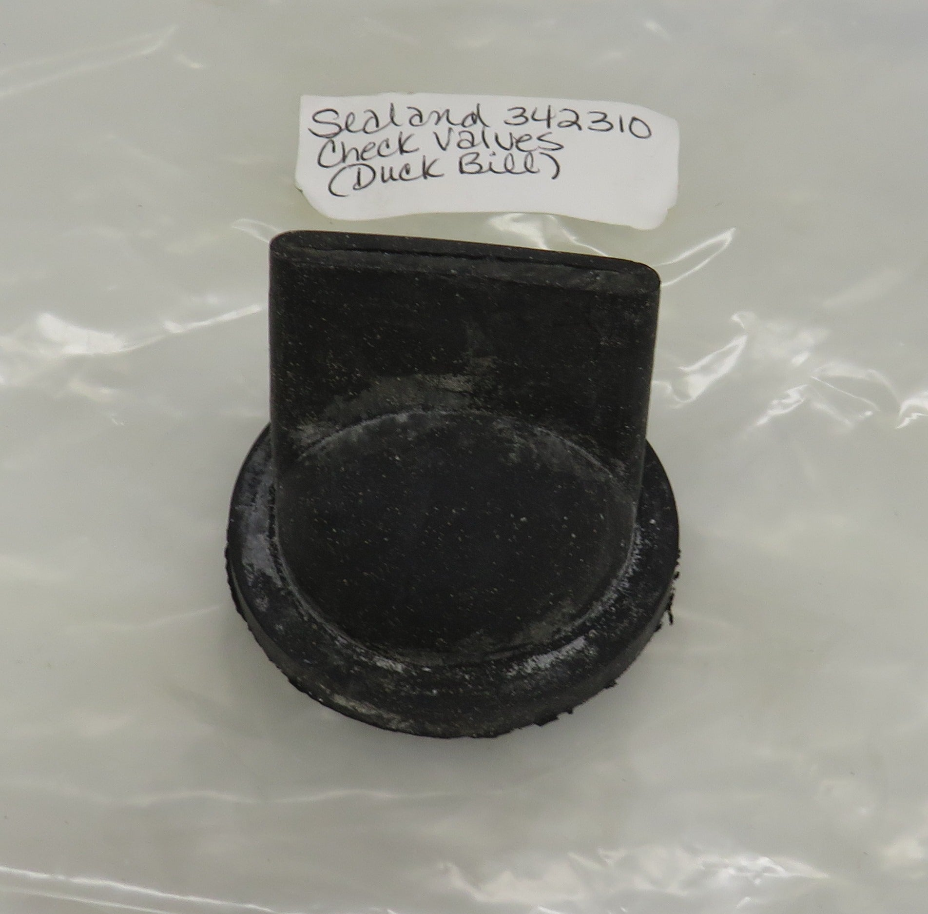 342310 Sealand Duck Bill (Check Valve) for Model 752 Manual Marine Toilet (OBSOLETE)