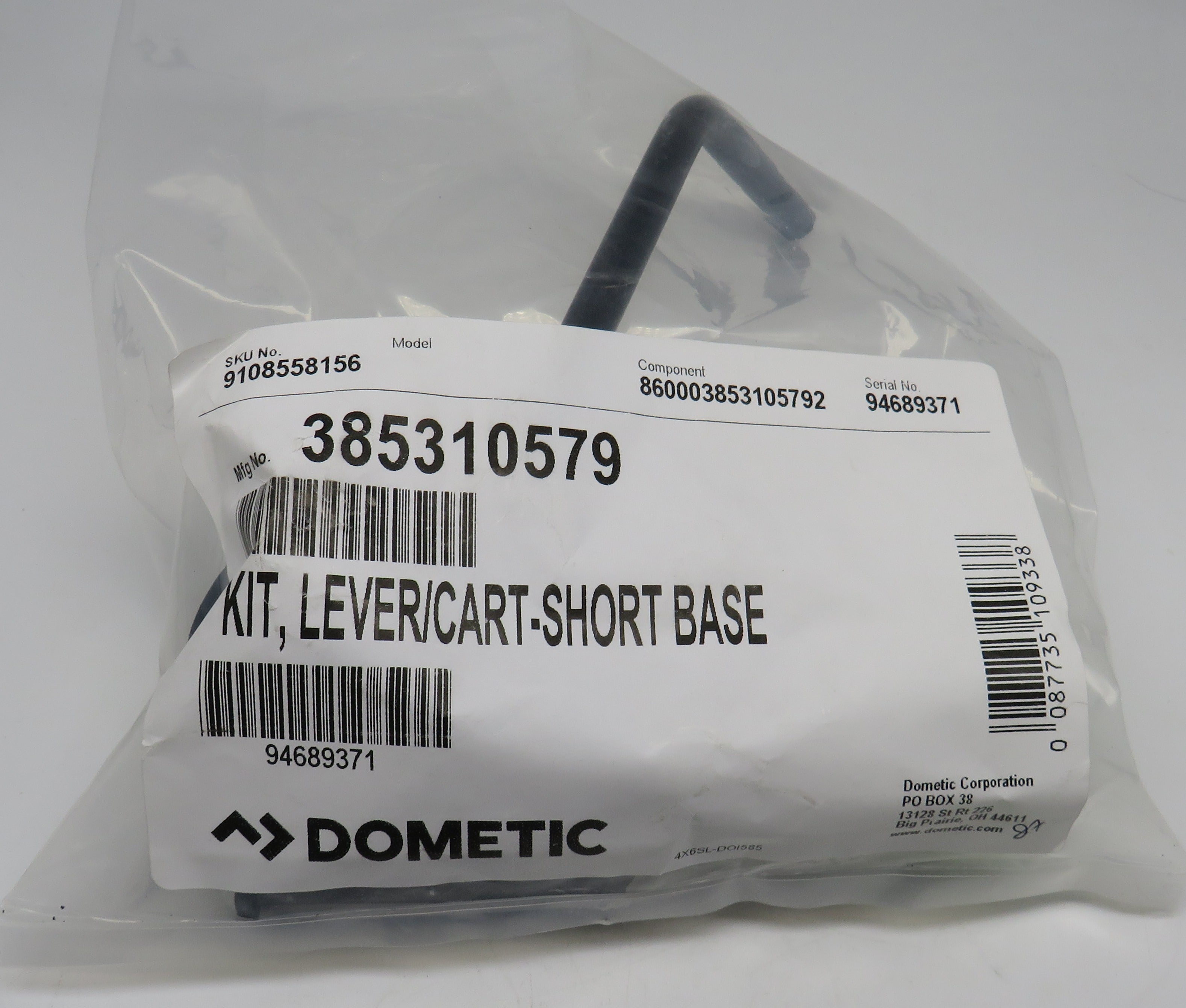 385310579 Sealand Dometic Short Base Flush Lever Replaces (600340825)