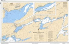 Lake Ontario Bay of Quinte Picton to Presqu'ile Bay Canadian Flat Chart 2069