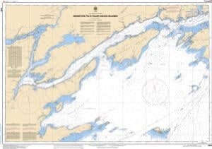 Lake Ontario Kingston to False Ducks Island Canadian Flat Chart 206
